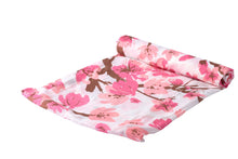 Cherry Blossom 100% Natural Bamboo Muslin Swaddle - My Modern Kid
