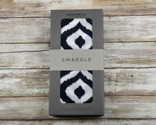 Moroccan Blue Swaddle - - My Modern Kid