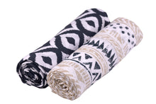Pyramid Print 100% Natural Cotton Muslin Swaddle - My Modern Kid