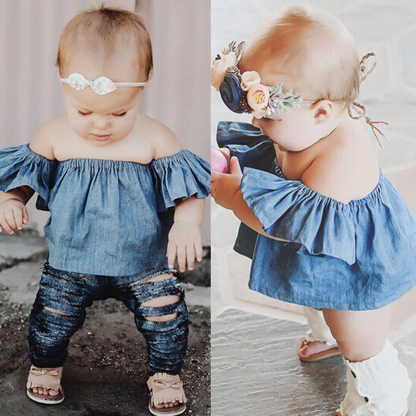 Modern baby girl clothing