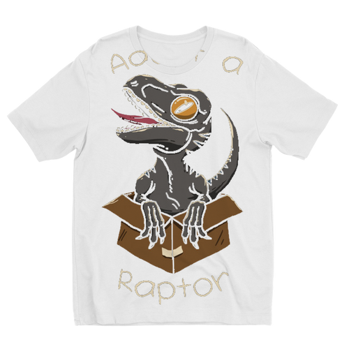 Adopt a Raptor Sublimation Kids T-Shirt - My Modern Kid