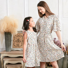 Mommy & Me (Set of 2) Flutter Sleeve Floral Dress - My Modern Kid