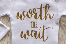 """Worth the Wait"" Baby Girl Bodysuit - My Modern Kid"