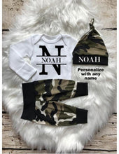 Personalized Baby Boy Coming Home Camo Outfit - My Modern Kid