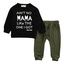 """Ain't No Mama Like The One I Got"" Sweatshirt and Harem Pants Clothing Set - My Modern Kid"