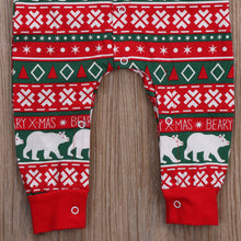 """Bear-y Christmas"" Cotton Pajamas - My Modern Kid"