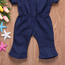 Vintage Flare Denim Jumpsuit - My Modern Kid