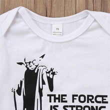 """The Force Is Strong With This One"" Unisex Cotton Onesie - My Modern Kid"