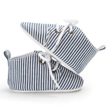 Baby Boys Striped Lace Up Shoes - My Modern Kid