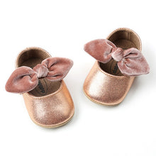 Baby Girl Bow-knot Soft Soled Flats - My Modern Kid