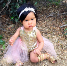 Pink, Sequins, & Gold Ballerina Dress - My Modern Kid