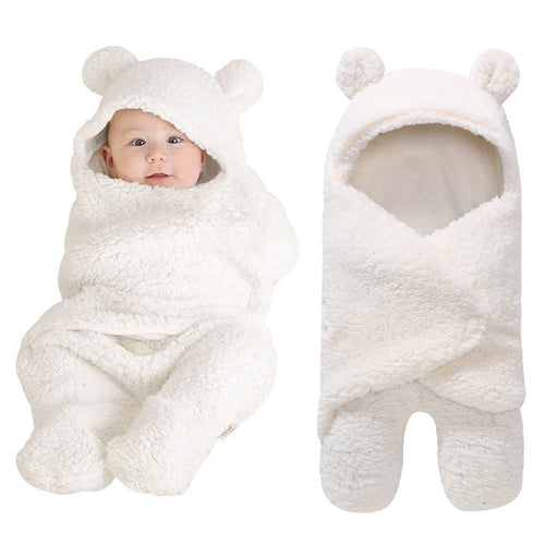 Comfy Bear Sleeping Swaddle Wrap - My Modern Kid