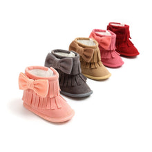 Baby Girl Fringe Winter Boots - My Modern Kid