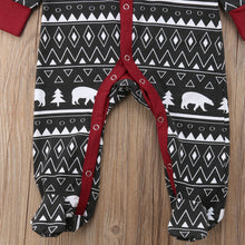 Geometric Bear Pajamas - My Modern Kid