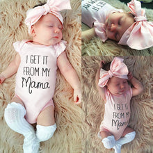 """I Get It From My Mama"" 2-Piece Onesie Set - My Modern Kid"