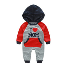 """I Love Mom"" Baby Boys Jumpsuit - My Modern Kid"