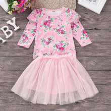 Girls Floral Princess Party Dress - My Modern Kid