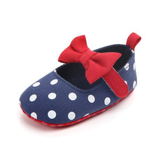 Baby Girls Polka Dots & Bows Casual Flats - My Modern Kid