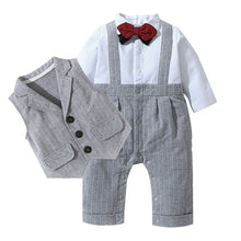 Baby Boys Gentleman 3-Piece Suit - My Modern Kid