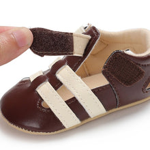 Baby Boys Breathable Hook & Loop First Walker Shoes - My Modern Kid