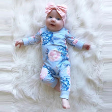 Floral Infant Cotton Romper - My Modern Kid