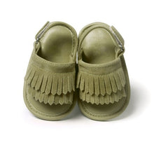 Girls Soft-Soled Fringed Sandal - My Modern Kid