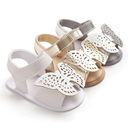 Summer Baby Girls Butterfly Sandals - My Modern Kid