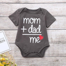 """Mom + Dad"" Onesie Bodysuit - My Modern Kid"