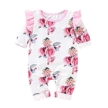 Baby Girls Floral Print Jumpsuit - My Modern Kid