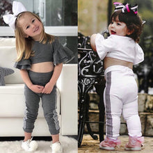 Girls Fit & Flare Casual Set - My Modern Kid