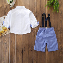 Little Gents 4-piece Bowtie Button Down Set - My Modern Kid