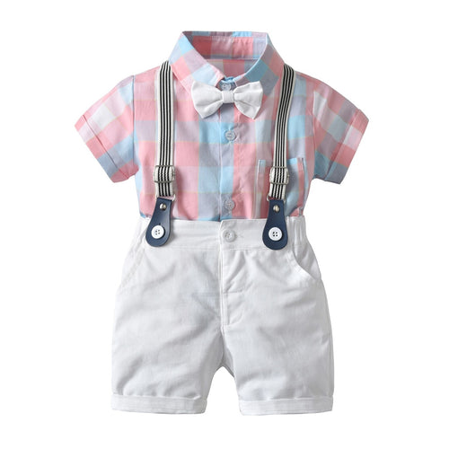Little Gents Pastel 3-Piece Suspender Set - My Modern Kid