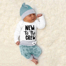 """New To The Crew"" Newborn 3-Piece Set - My Modern Kid"