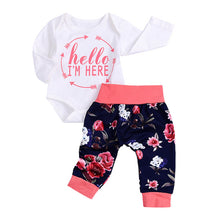 """Hello, I'm Here"" Coming Home 2-Piece Set - My Modern Kid"
