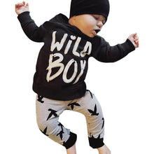 """Wild Boy"" X Printed Clothing Set - My Modern Kid"