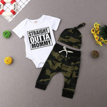 """Straight Outta Mommy"" Baby Boys Set - My Modern Kid"
