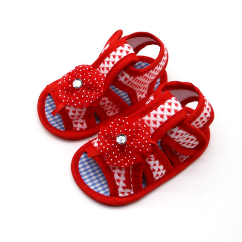 Summer Baby Girls Flower Soft-Soled Sandals - My Modern Kid