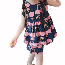 Girls Flower Pattern 2-Piece Shorts Set - My Modern Kid