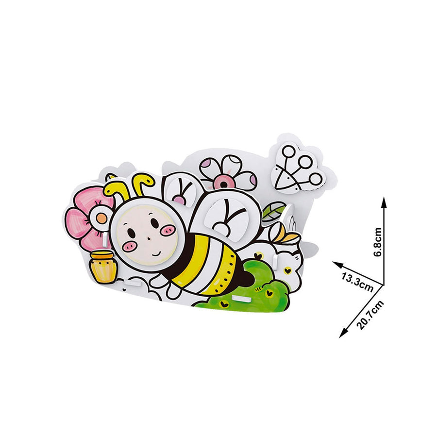 PUZZLE 3D PINTAR HONEY BEE