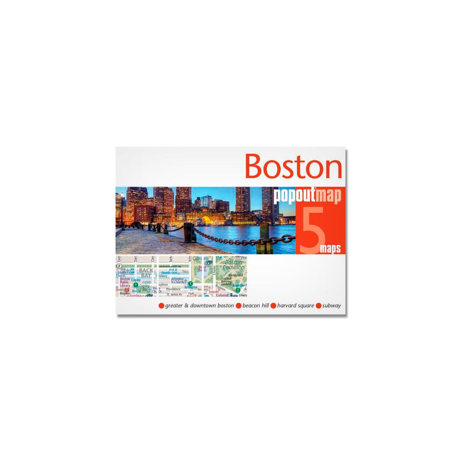 MAPA POPOUT BOSTON