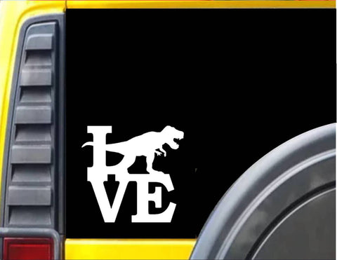 T-Rex Love Decal Dinosaur Sticker *I068* - The Safari Shoppe