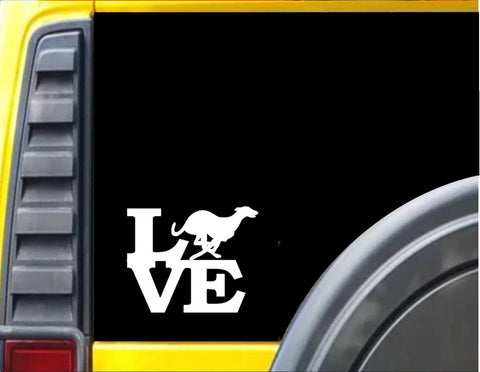 Greyhound Love *F164* Decal Sticker