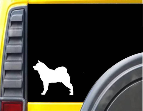 Akita dog Decal Sticker *J574*