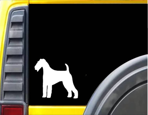 Airedale Dog Decal Sticker *J604*