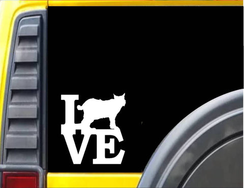 Bobcat Love Decal Sticker *H950*