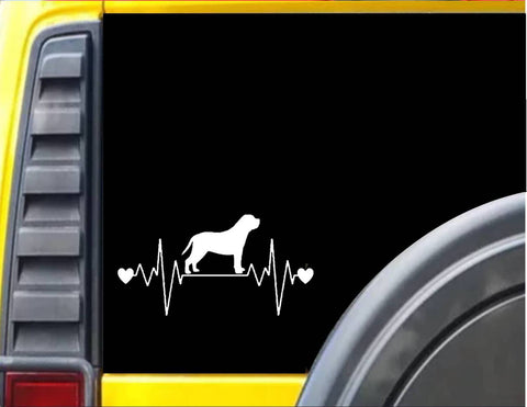 Mastiff Lifeline Decal Sticker *I229* - The Safari Shoppe