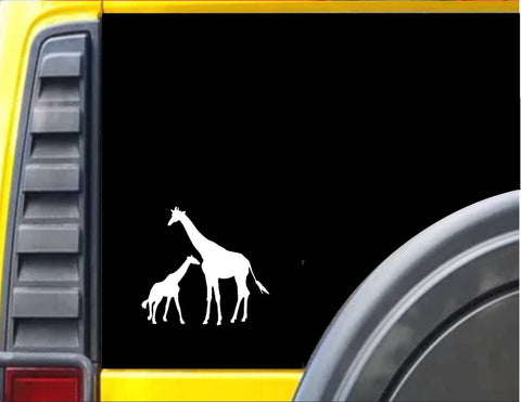 Giraffe Family  Decal Sticker *I922* - The Safari Shoppe