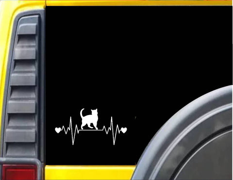 Cat Lifeline Decal Sticker *I191*