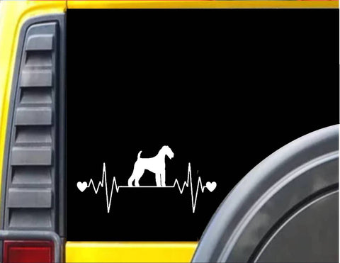 Airedale Lifeline Decal Sticker *J350*