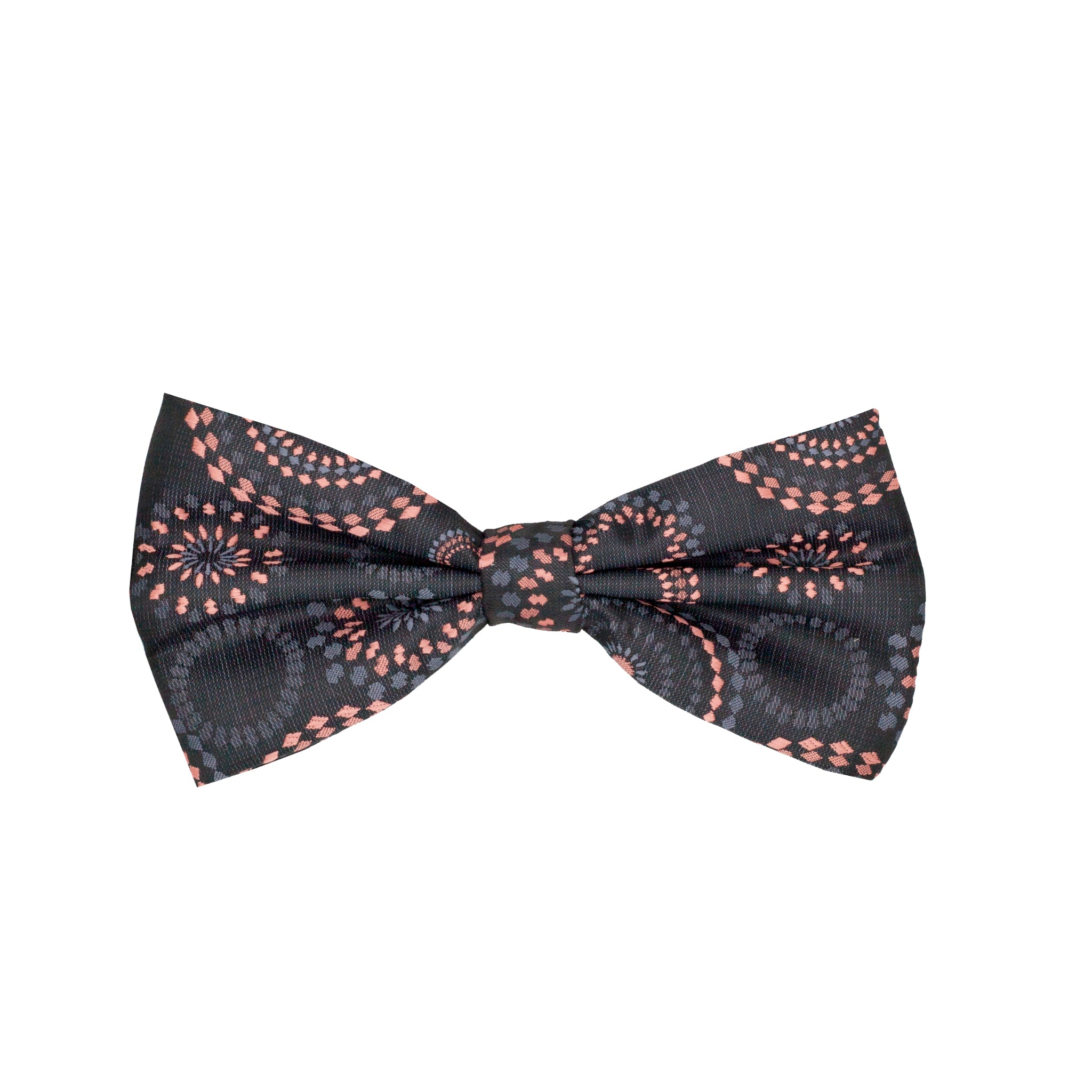 IU BOWTIE SET BLACK / TAN